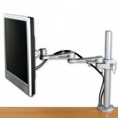 LCD monitorivarsi Silver